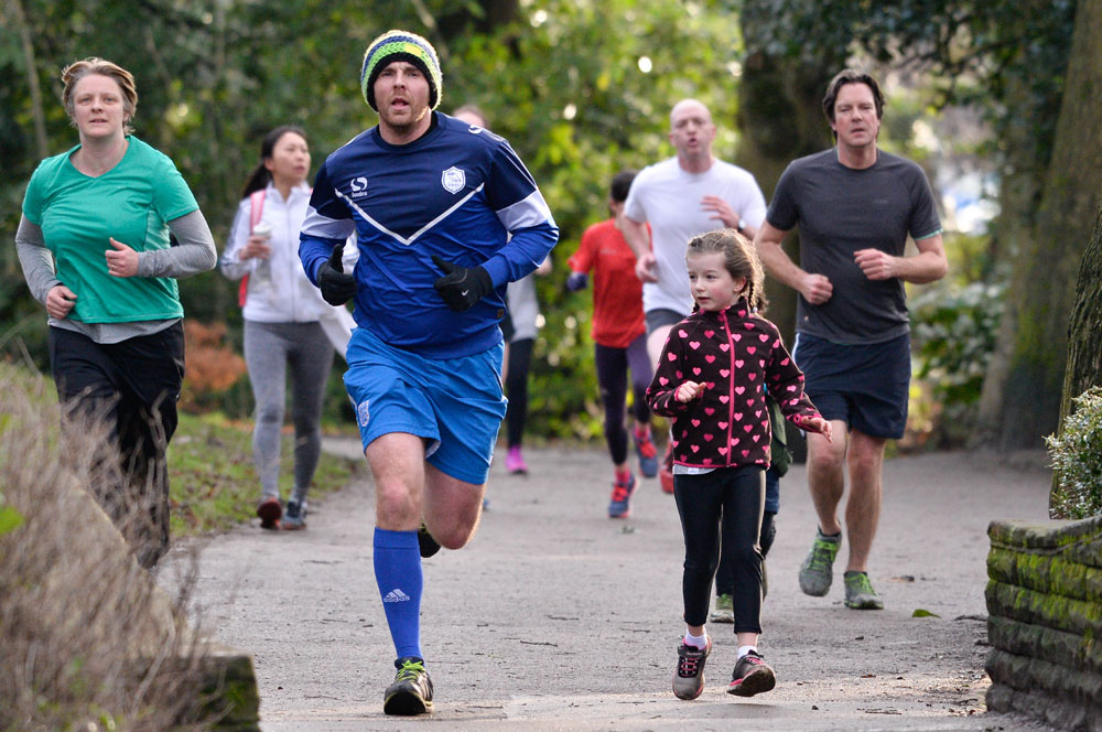Parkrunners