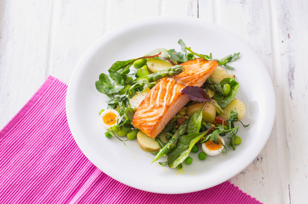 Slow-baked-salmon