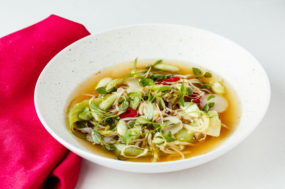 Asian style vegetable broth