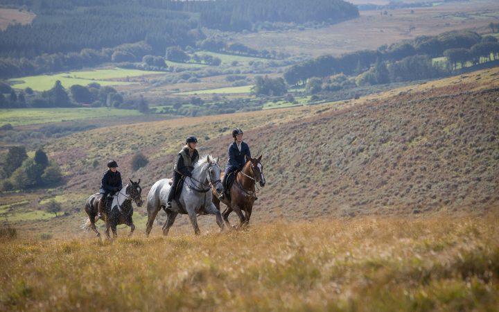 Horseback riding on Liberty Trails in Dartmoor