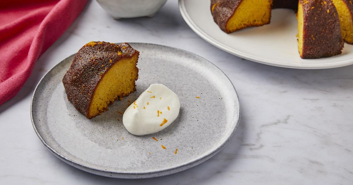 Orange And Almond Polenta Bundt Cake