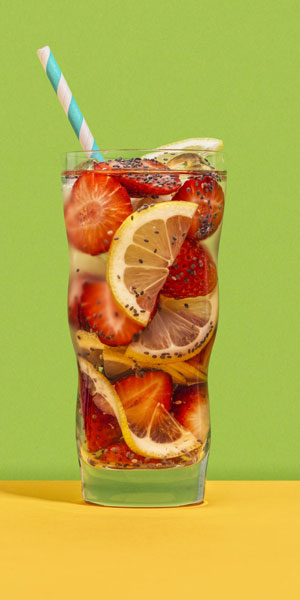 fruity fusion water
