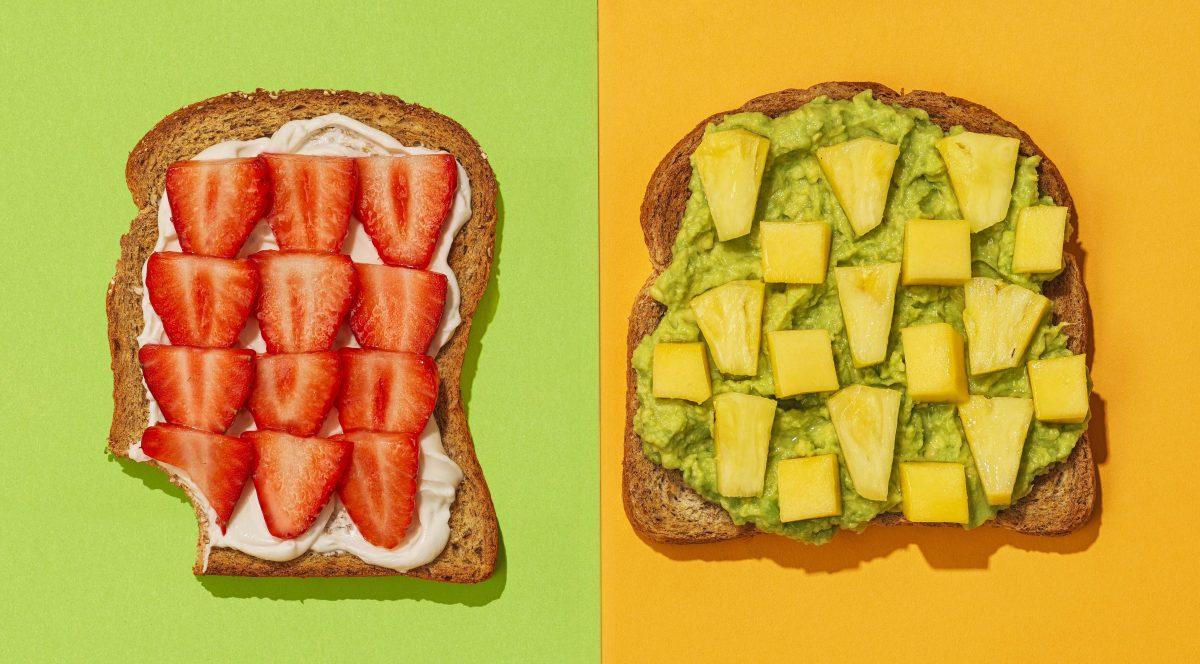 Fruity toast