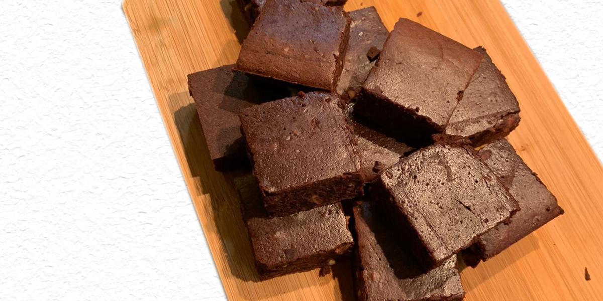 chocolate pb brownies