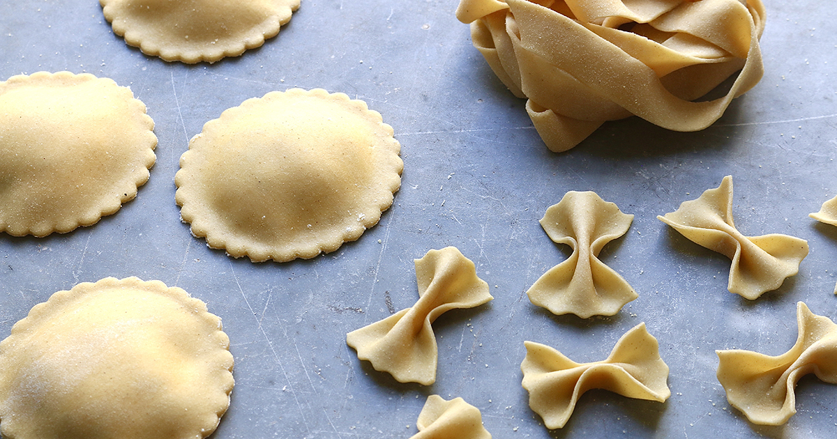 Mindful Baking Homemade pasta