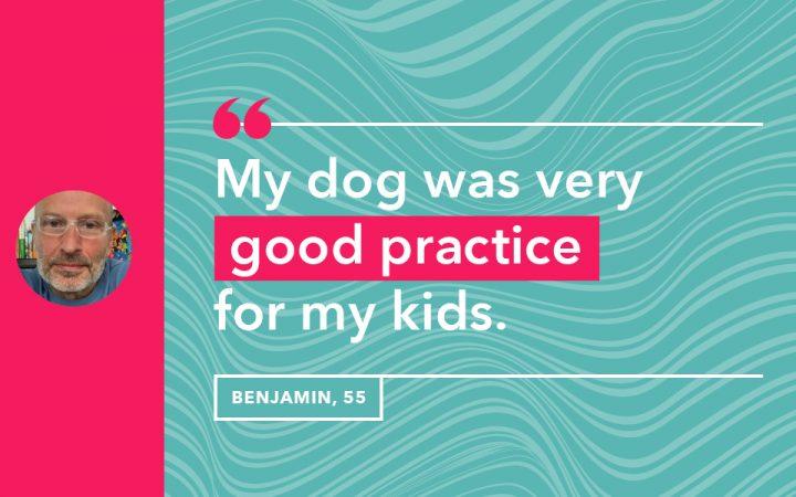 Benjamin's life lesson
