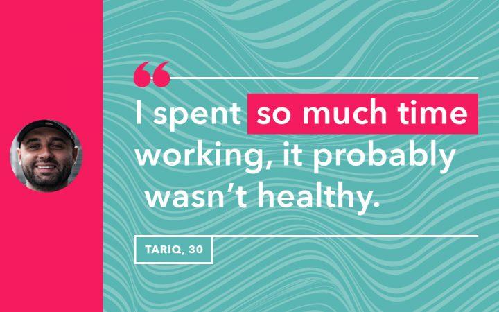 Tariq's life lesson