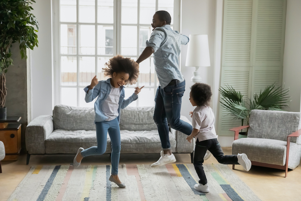 Kids activity at home with parents in half term