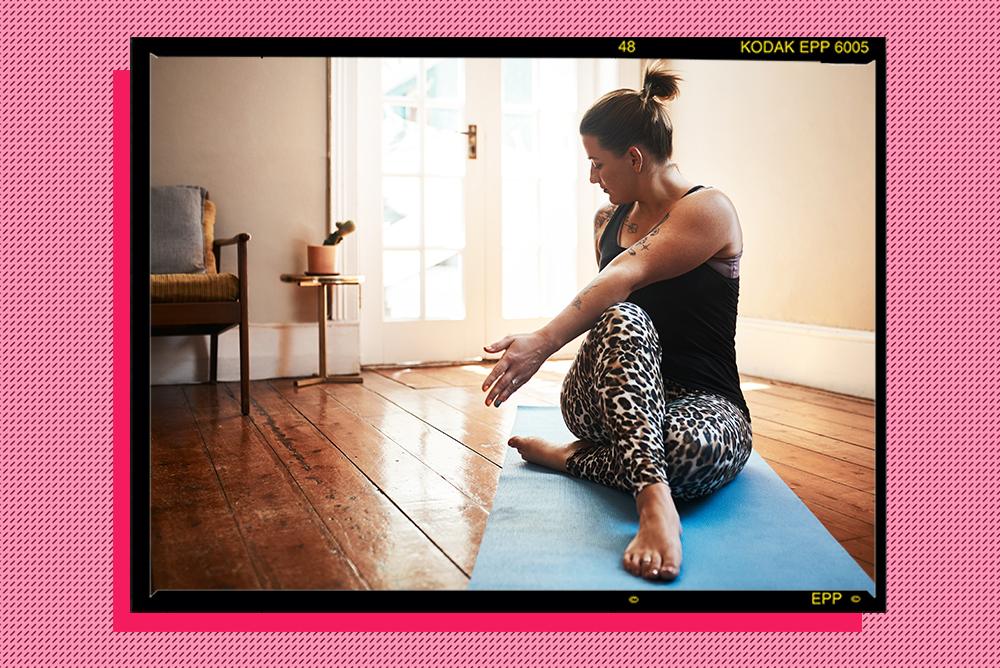 Simple spinal twist sleep stretch