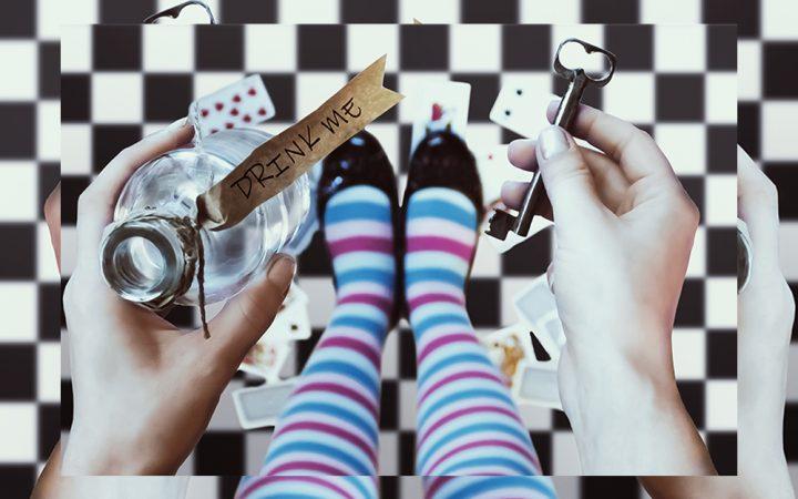 Alice in Wonderland event in UK 2021