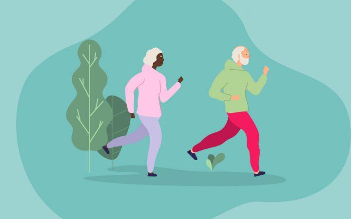 walking and jogging lockdown habits