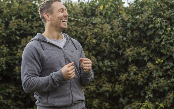 Jonny Wilkinson enjoying walking outside