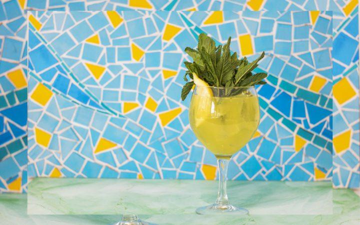 Garden of tropics drink for summer